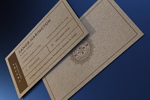 Craft Paper Business Card