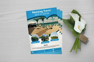 Flyer For Travel Agency V761