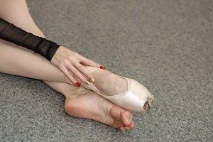Ballerina dresses pointes