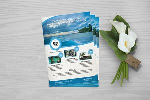 Flyer For Travel Agency V762