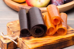 Dry fruit leather