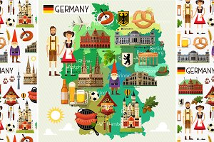 Germany Travel Set.