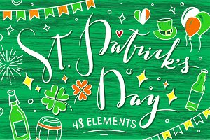 St. Patrick's Day Illustrations