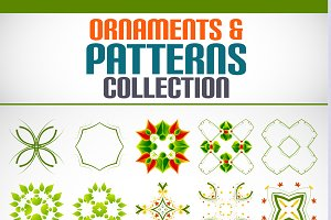 Ornaments and patterns set 4