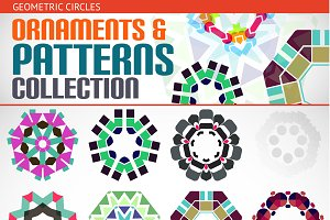 Ornaments and patterns set 5