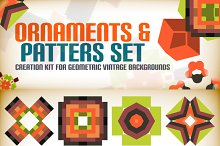 Ornaments and patterns set 6