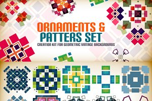 Ornaments and patterns set 7
