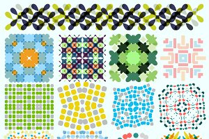 Ornaments and patterns set 8