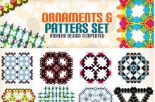 Ornaments and patterns set 9