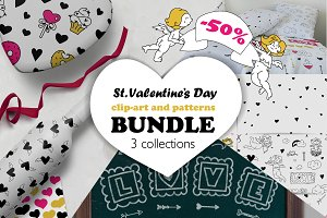 Valentine's Day graphics | BUNDLE
