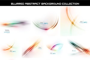 Blurred backgrounds set 5