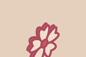 Illustration of valentine's icons