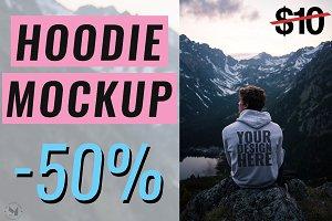 [-50%] Hoodie Mockup - Mountain Man