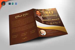 Gold Pastor's Anniversary Program