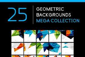 25 abstract geometric backgrounds 4