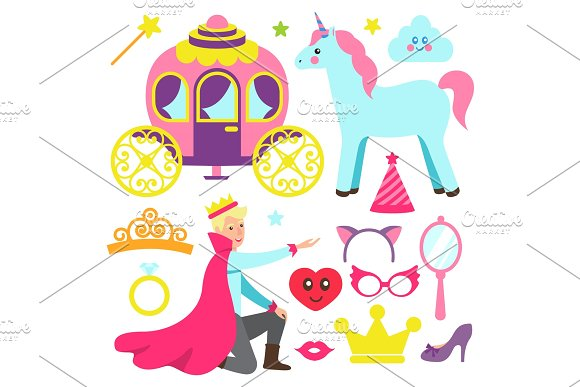 Accessories For Princess Party And Fairy Prince