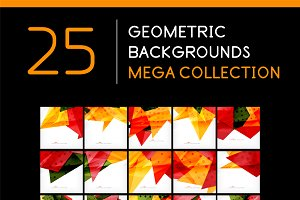 25 abstract geometric backgrounds 5