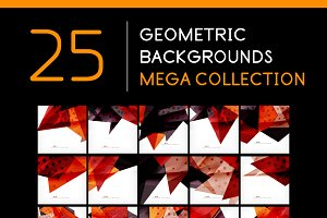 25 abstract geometric backgrounds 6