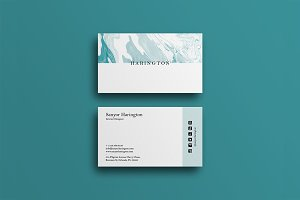 Minimal Modern Business Card