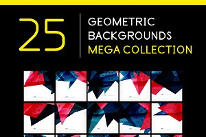 25 abstract geometric backgrounds 7