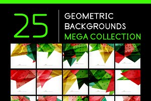 25 abstract geometric backgrounds 8
