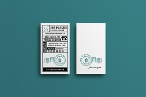 Studio Retro Business card