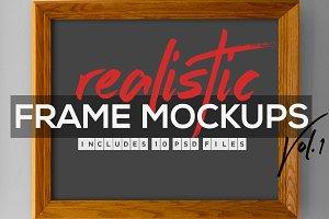 Realistic Frame Mockup Vol.1