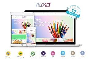 Ap Closet Prestashop 1.7 Theme