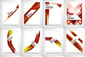 12 flyer designs set 6