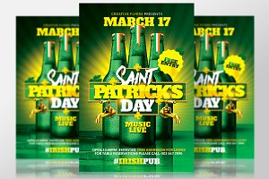 St Patrick's Day Flyer