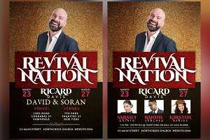 Revival Nation Church Flyer