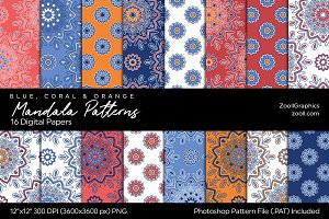 Mandala Digital Papers BCO