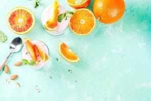 Blood Orange Parfait
