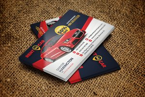 Car Rent Service Business Card