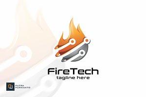 Fire Tech - Logo Template