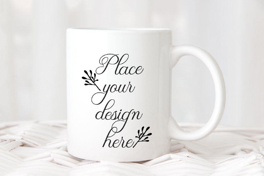 6380f475084 White Sublimation Coffee mug Mockup ~ Product Mockups ~ Creative Market