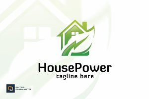 House Power - Logo Template