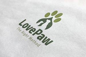 Love Paw Logo