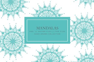Mandala collection - Hand drawn