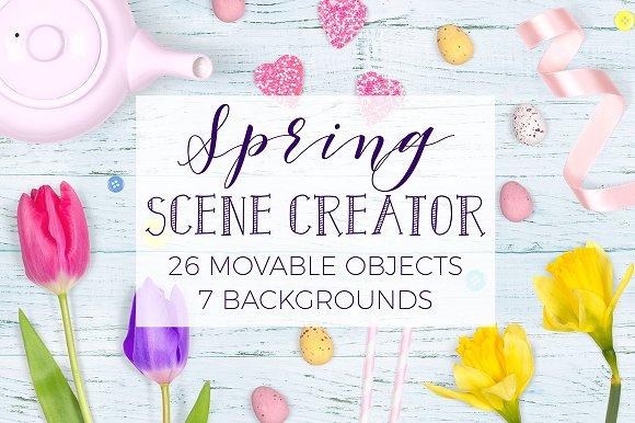 Download Spring Scene Creator - Top View