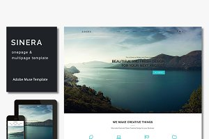 Sinera - Creative Muse Template