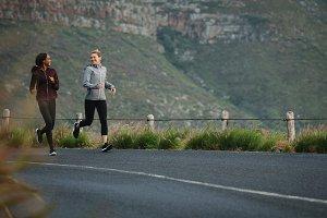 Sports women running