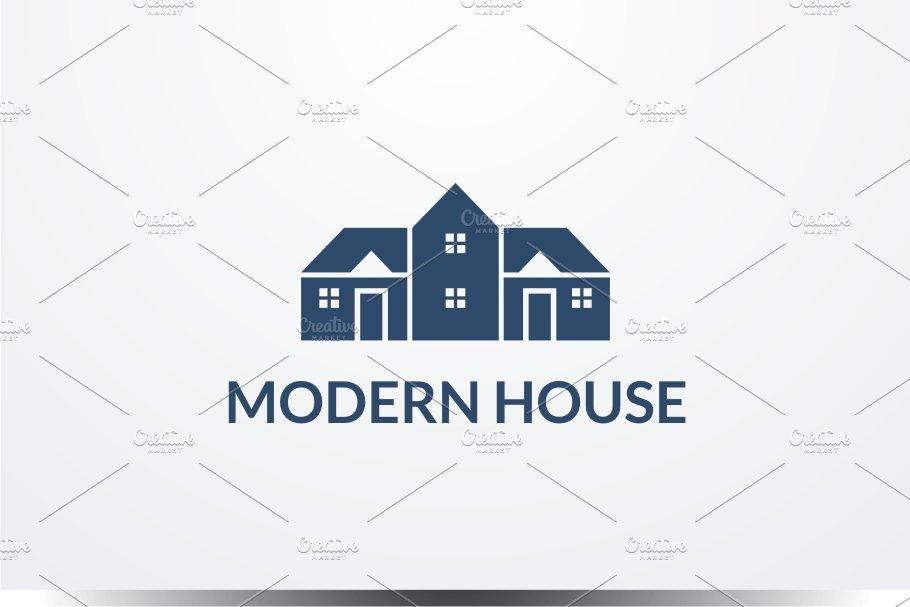 Modern House Logo Logo Templates Creative Market