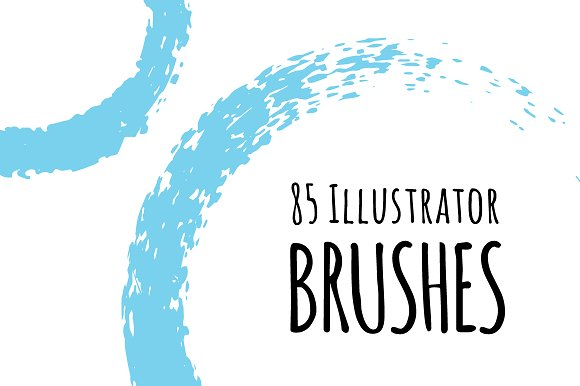 85 Illustrator Brushes