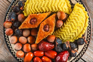 Eastern sweets for Novruz holiday