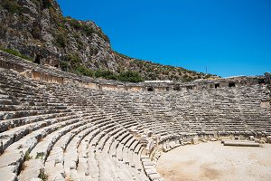 photo of ancient theatre