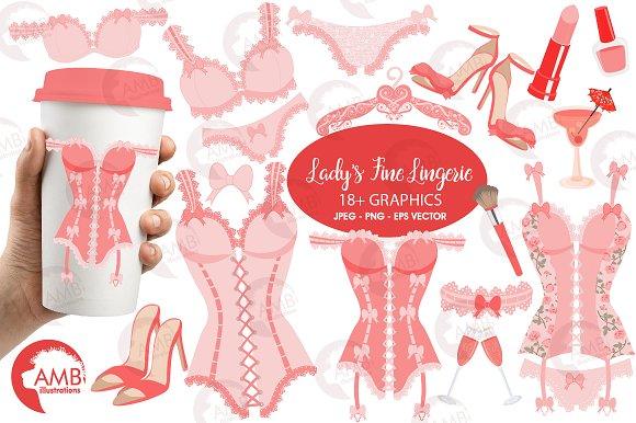 Lady's Fine Lingerie AMB-2209