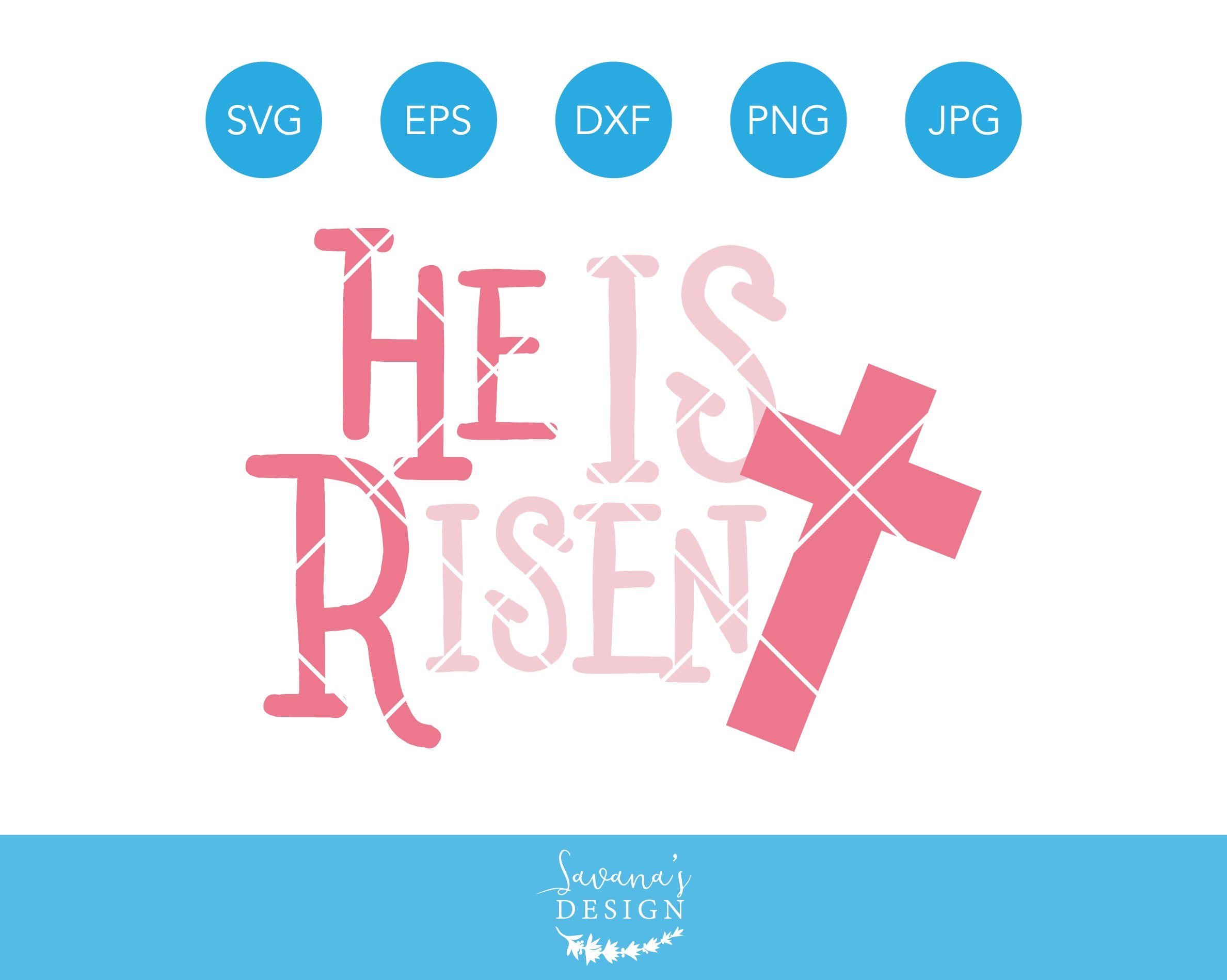 He Is Risen Easter Svg Cutting File Pre Designed Photoshop Graphics Creative Market