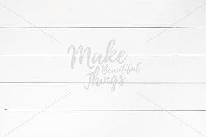 White wooden background #6063