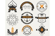 Logotypes set / Vintage Insignias